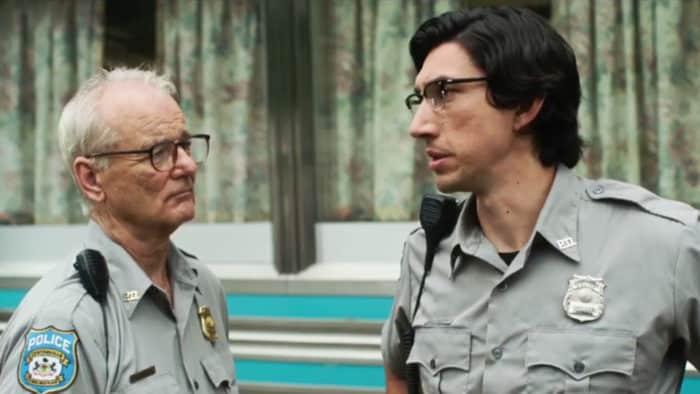 Bill Murray et Adam Driver dans The Dead Don't Die