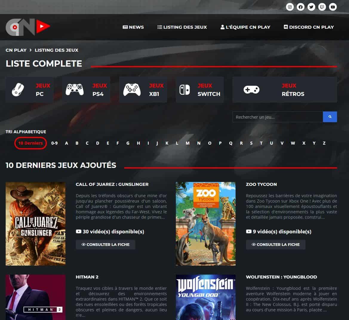 L'interface de CN Play réalisée sur mesure est particulièrement réussite, non ?