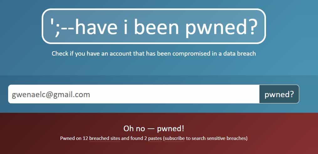 Est-ce que mon compte est piraté?
