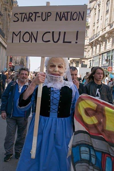 Macron Startup Nation : visiblement cela ne fait pas l'unanimité