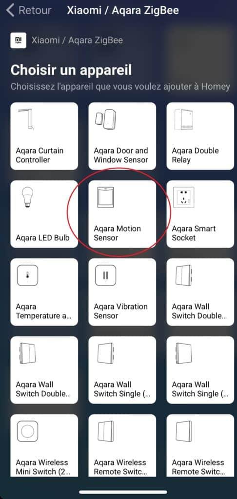 Xiaomi sensor