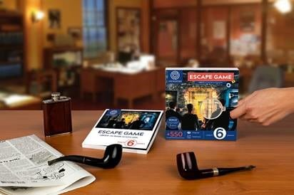 Coffret cadeau escape game