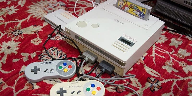 Nintendo Play Station Prototype fonctionne