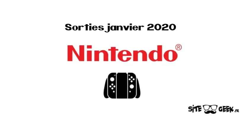 Switch Sorties janvier 2020