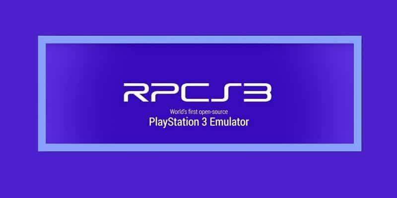 RPCS3 émulateur PS3 pour PC