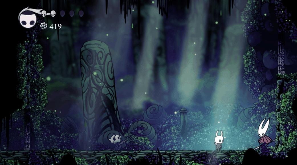 Rencontre avec une des protagonistes du jeu, admirez les détails du décor, les jeux de lumières, les dessins …