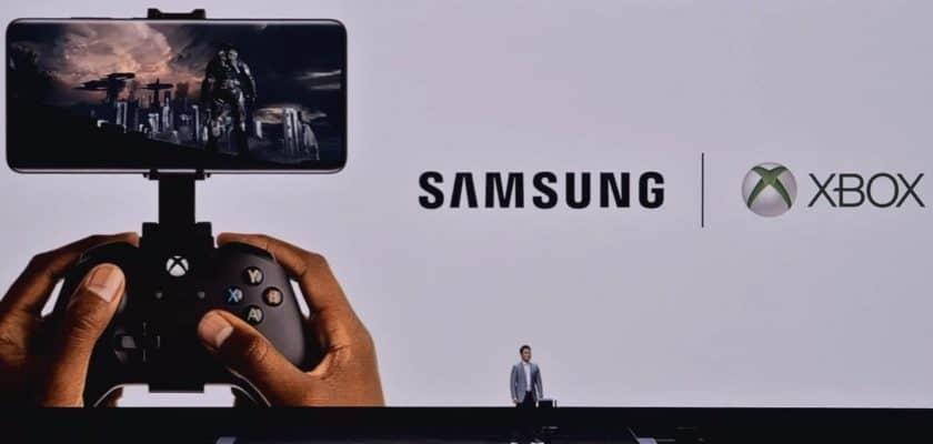 Xbox et Samsung s'associent