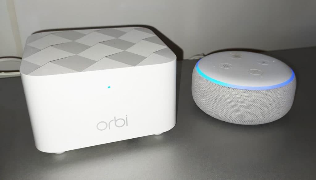 L'Orbi RBK13 et Alexa