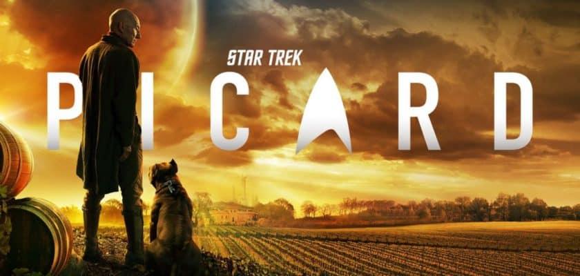 Le logo de la série Star Trek Picard
