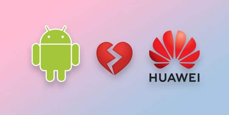 Problème entre Google et Huawei
