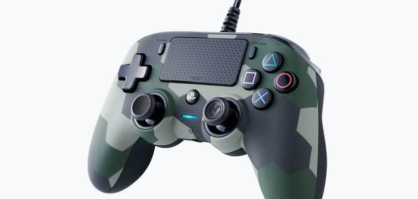 La manette Nacon Wired Compact Controller version Camouflage