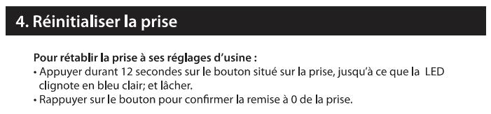 En cas d'erreur lors de la synchro de la DiO Connect Plug