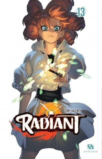 Radiant en est à présent au tome 13