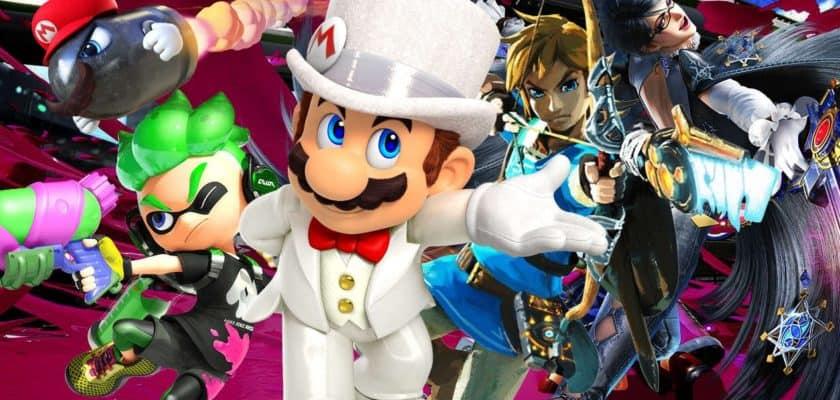 Classement Jeux Nintendo Switch mars 2020