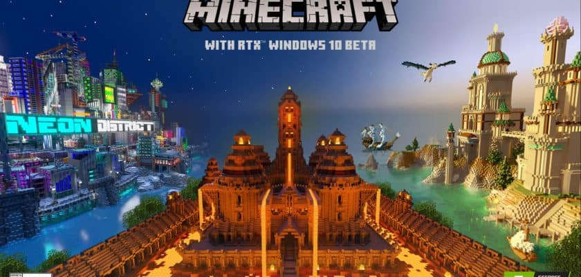 Minecraft RTX beta version
