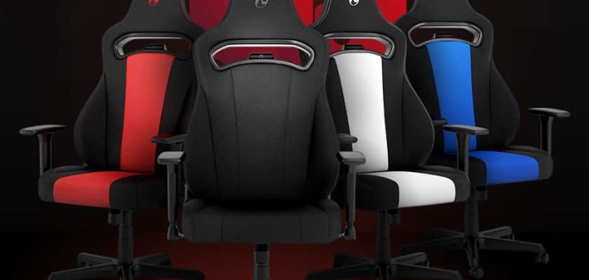 Les différents modèles de chaises Nitro Concepts E250