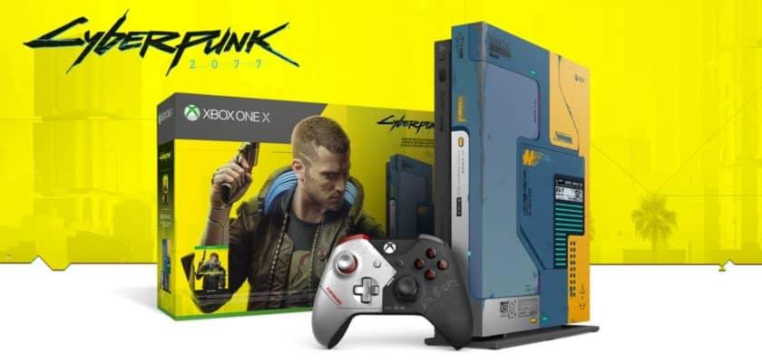 Pack Xbox One X Cyberpunk 2077 Édition limitée