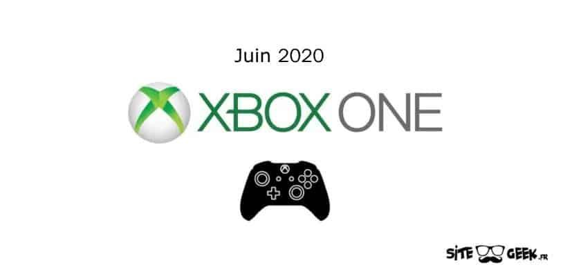 Xbox Sorties juin 2020
