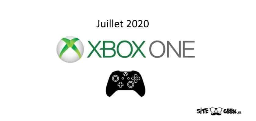 Xbox Sorties juillet 2020