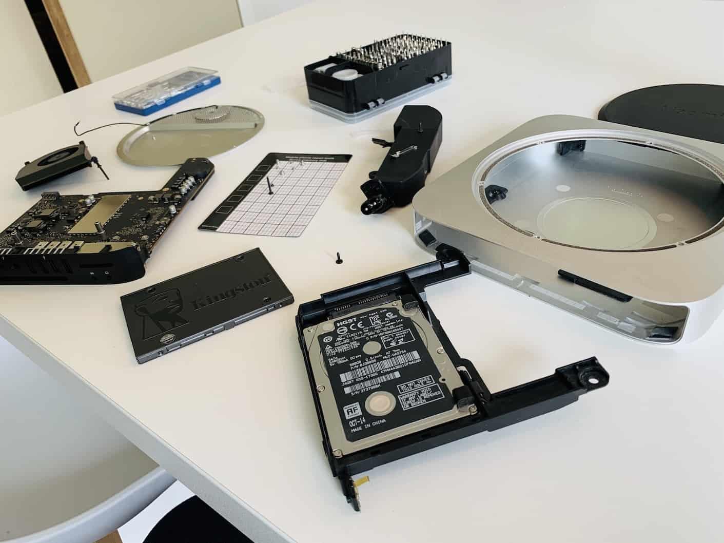 Votre Mac Mini est enfin demonté