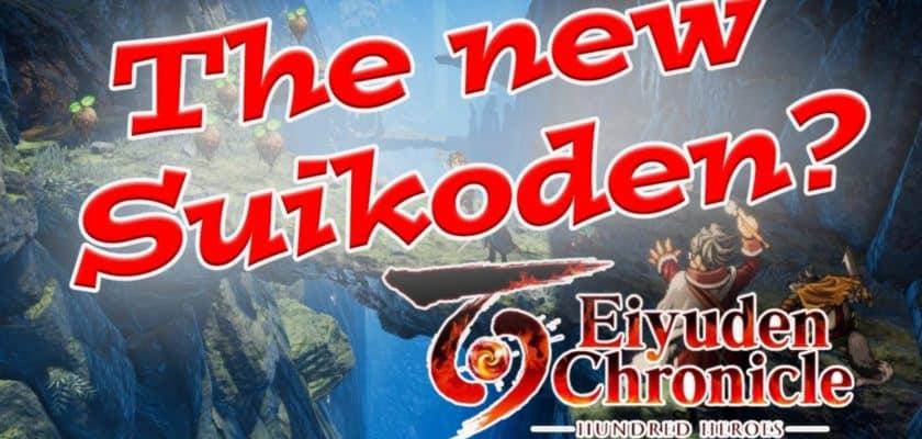 Eiyuden Chronicle jrpg nouveau jeu