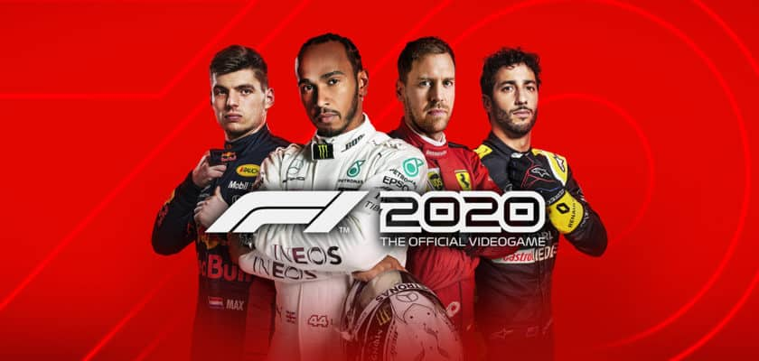 Le visuel officiel de F1 2020