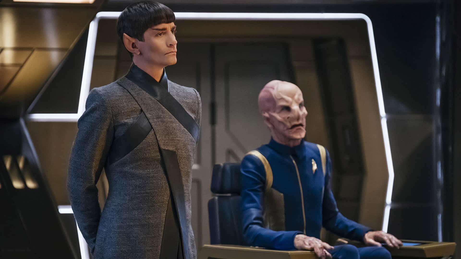 Saru pourrait bien être le Capitaine du Discovery mais rien n'est moins sûr.