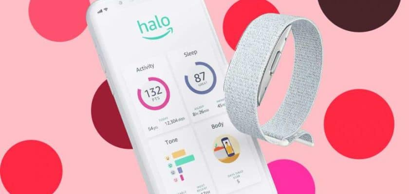 Bracelet connecté Amazon Halo