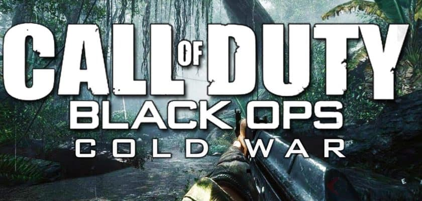 Call of Duty Black ops cold war bande annonce Activision