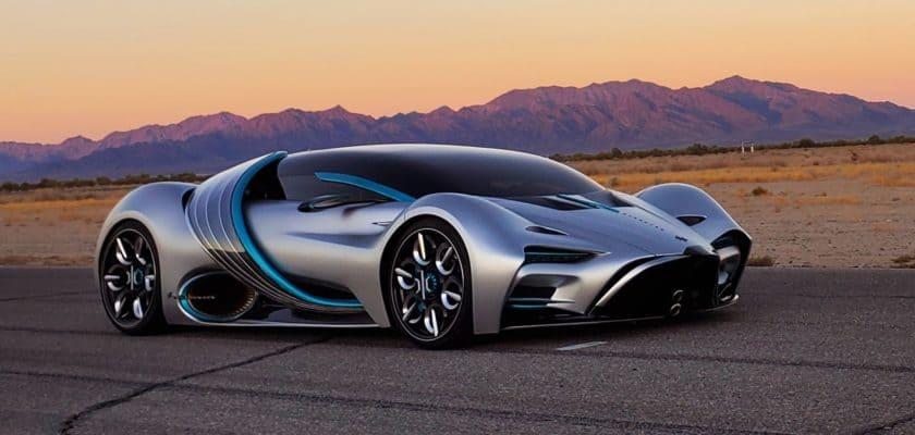 Hyperion concept car technologie hydrogène