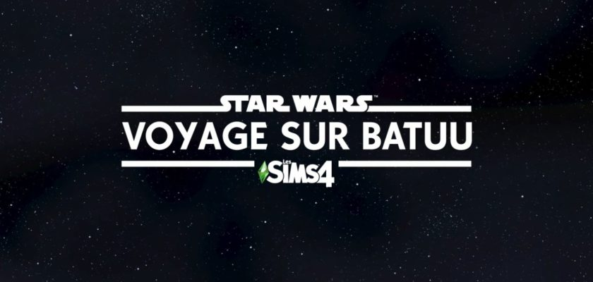 Les Sims 4 extension Star Wars