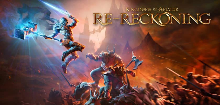 Le visuel officiel de Kingdoms Of Amalur Re-Reckoning