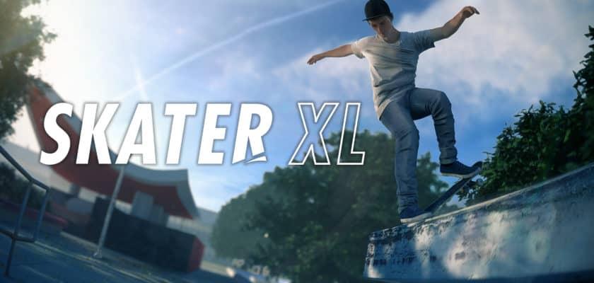 Le logo et le visuel officiel de Skater XL