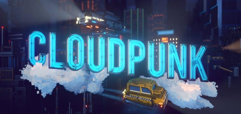 Cloudpunk date sortie jeu vidéo