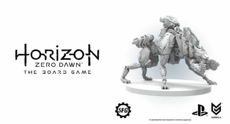 Horizon Zero Dawn The Board Game sortie jeu de société