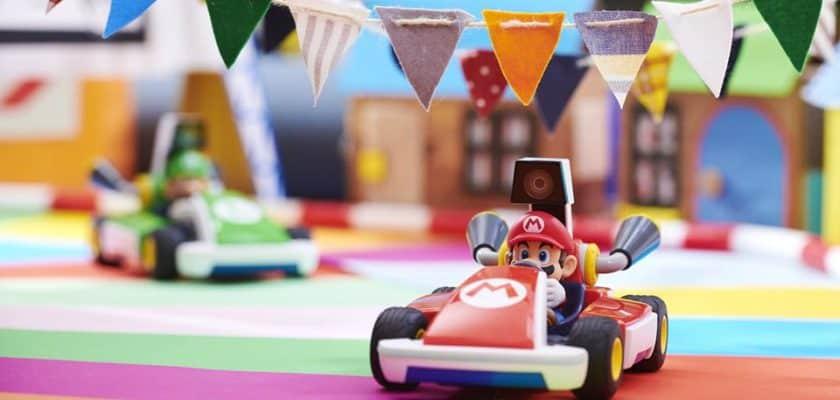 Mario Kart live home circuit sortie jeu vidéo Nintendo Switch