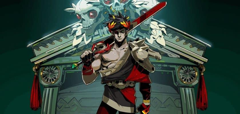 Le visuel officiel de Hades