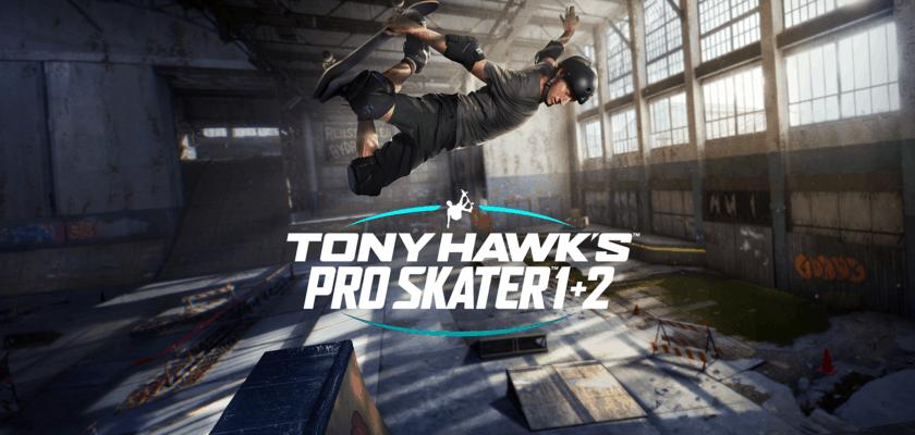 Le visuel officiel de Tony Hawk's Pro Skater 1+2