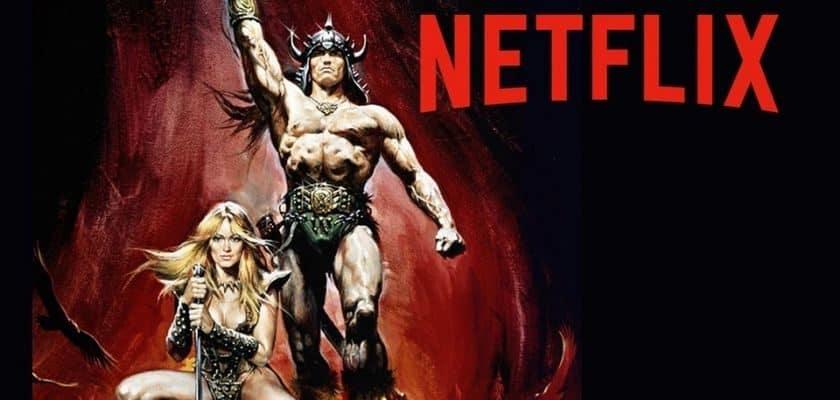Série Conan le Barbare Netflix