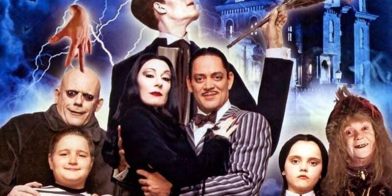 Série Famille Addams Netflix Tim Burton