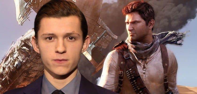 The Uncharted film casting Tom Holland