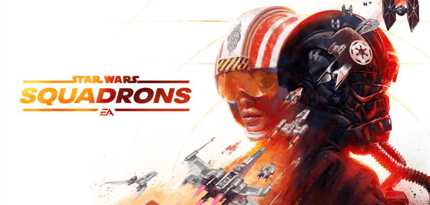 Le visuel officiel de Star Wars Squadrons