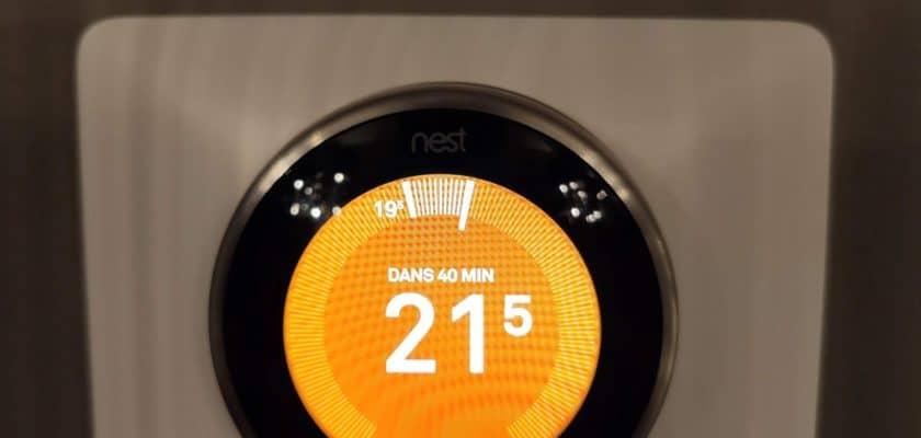 Google Nest Thermostat intélligent