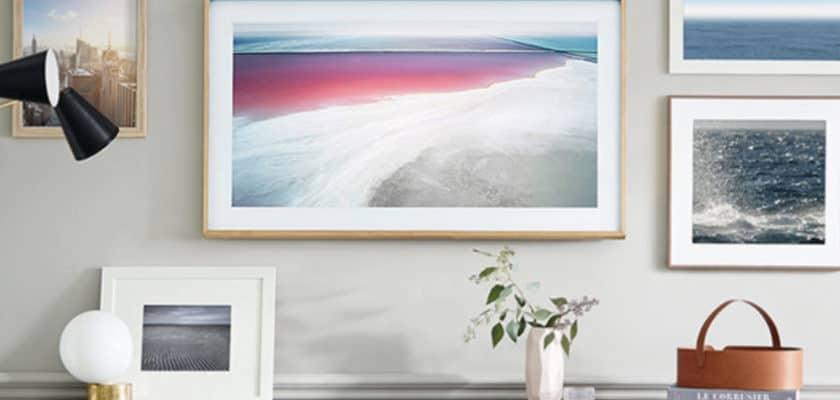 Samsung The Frame 2020 : une tv qui se fait oublier