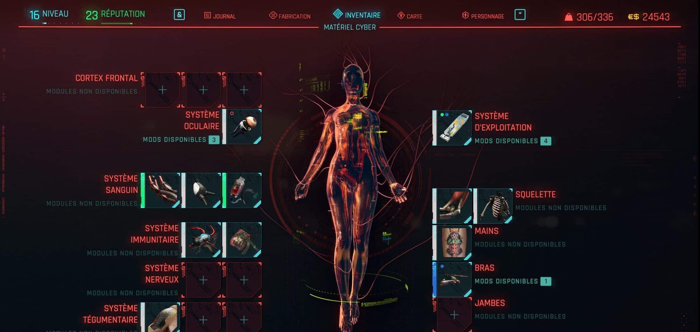 Equipez-vous des meilleurs implants cybernétiques
