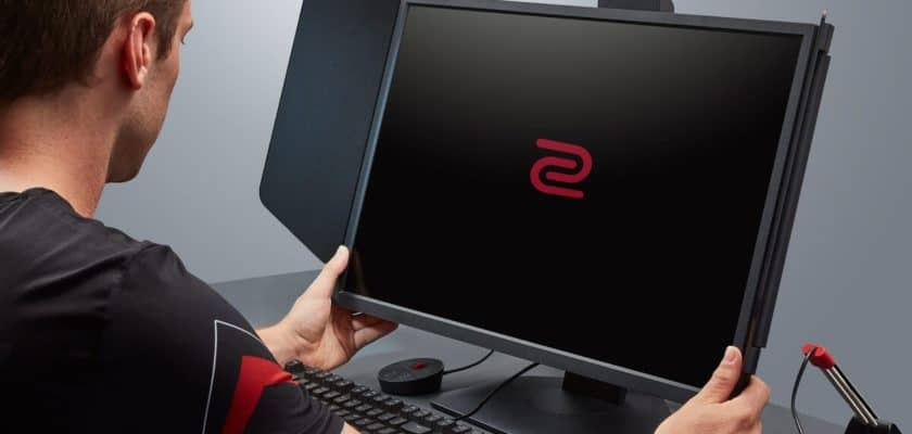 Le visuel officiel du Zowie XL2546K
