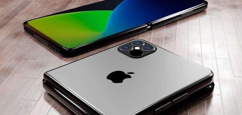 Avis iPhone pliable Apple LG