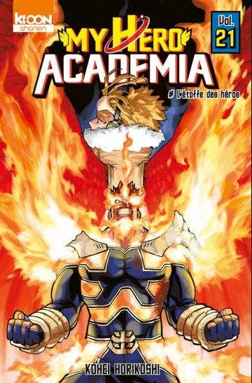 L'anime de My Hero Academia s'est arrêté au tome 20