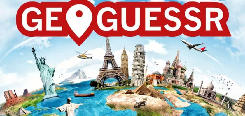 Le visuel officiel de GeoGuessr