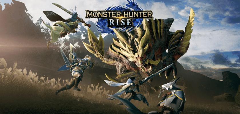 Le visuel officiel de Monster Hunter Rise
